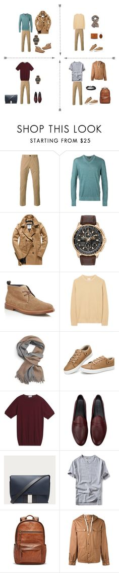 """For men mix"" by tikhonova-tatiana on Polyvore featuring PS Paul Smith, MICHAEL Michael Kors, Superdry, Citizen, Cole Haan, Gant Rugger, BOSS Hugo Boss, John Smedley, Galet и Bally"
