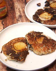 13. Paleo Pear and Bacon Pancakes #paleo #breakfast #recipes http://greatist.com/eat/paleo-breakfast-recipes
