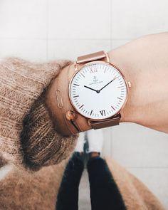 relógio ouro rosé