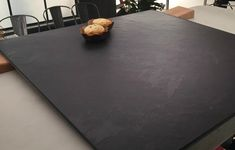 Slate tile is the smart and affordable flooring option for any flooring work. We offer the best quality of natural slate tiles which are directly imported from Brazil. Black Slate Floor Tiles, Slate Tiles, Slate Flooring, Flooring Options, Wall Tiles, Tile Floor, Kitchen Living, Living Room, How To Attract Customers