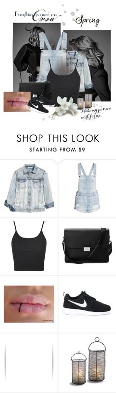 """Untitled #180"" by young-zendaya05 ❤ liked on Polyvore featuring Topshop, Aspinal of London and NIKE"