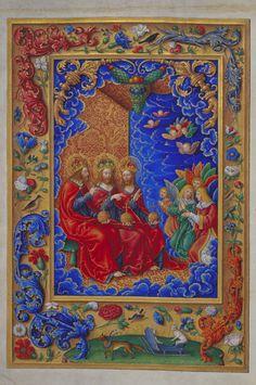 Fig. 5 Jakob Elsner, The Trinity, Kress Missal, 1513, Nuremberg, Germanisches Nationalmuseum, Hs. 113264, fol. 2v (artwork in the public domain)