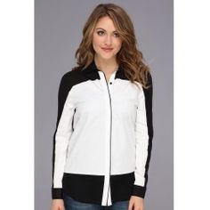 Kenneth Cole New York - Acadia Blouse (White/Black) - Apparel - product - Product Review