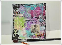 Jorunns fristed: Art Journaling, mitt nybegynner kurs i Juni. Juni, Ark, Art Journaling, Art Diary, Performing Arts
