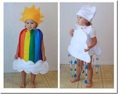 Disfraz casero de arcoíris para niño - Nos disfrazamos ayudas para ...