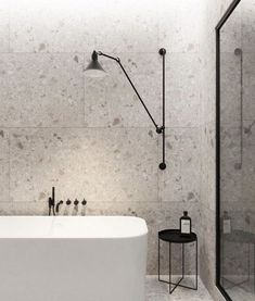 Inspiring Modern Wall Texture Design for Home Interior Bathroom Interior Design, Decor Interior Design, Interior Paint, Interior Ideas, Bathroom Inspiration, Home Decor Inspiration, Decor Ideas, Minimalist Toilets, Wall Texture Design