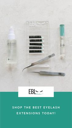 EBL carries all the best eyelash extension products for artists' today!