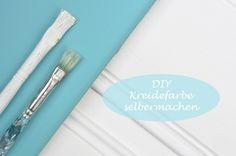 DIY - Kreidefarbe/Chalk paint ganz einfach und sehr günstig selbermachen