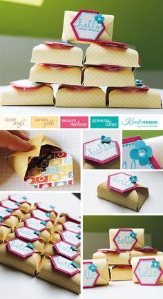 Stampin Up, SU, Envelope Punch Board, treat envelopes