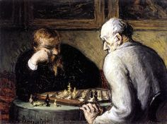 It's France v. France as Honore Daumier and Jacque-Louis David meet in Round Two of the Infinite Art Tournament. Jacque Louis David, Infinite Art, Honore Daumier, Chess Players, Art For Art Sake, Wood Engraving, Illustrations, Caricatures, Art History