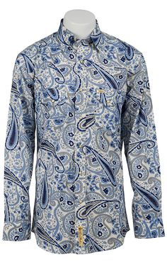 Larry Mahan Men's Long Sleeve Western Snap Shirt LM1320702