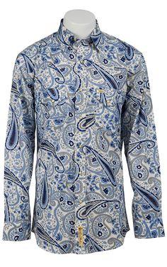Larry Mahan Men's Long Sleeve Western Snap Shirt LM1320702