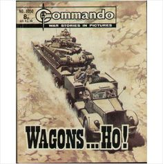 COMMANDO COMIC NO 1050 1976 TILLEYS of SHEFFIELD