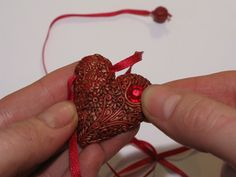 Filigree heart tutorial  ~ by Kopilka