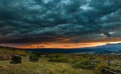 sunset clouds landscapes nature fields HDR photography