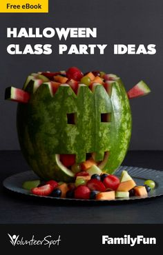 Awesome craft, snack, game and story ideas for a killer Halloween kids' party!