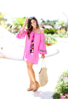 tassel dress for vacation?