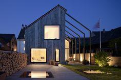 Casa antiga adaptada como estúdio de arquitetura