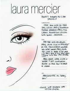 Episode 10: Recreate Joshua's winning beauty look with this Laura Mercier face chart!