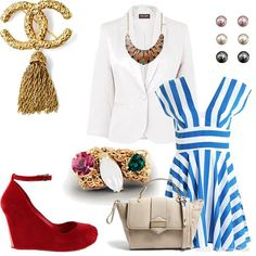 Smart Stripes | Women's Outfit | ASOS Fashion Finder