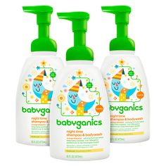 Babyganics Baby Shampoo Plus Body Wash, Orange Blossom, Pump Bottle (Pack of Kids Packaging, Packaging Design, Product Packaging, Box Packaging, Baby Toiletries, Soothing Baby, Baby Skin Care, Baby Shampoo, Baby Oil