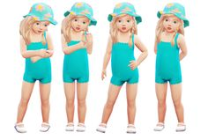 - the-sofia-sims: Toddler Pose Pack 5 poses for...