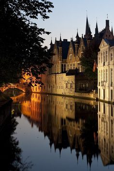Feels like home . Bruges (Belgium). This city is a must. Put it on your bucket list.