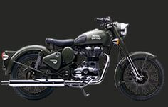 Battle GreenThe Classic Battle Green comes to you with a paint scheme reminiscent of the War era, a time when Royal Enfield motorcycles proved their capabilitities and battle worthiness by impeccable service to soldiers. Donning a younger look with styling cues one would expect only from a genuine Royal Enfield