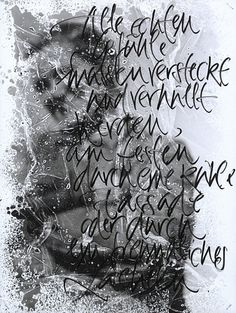 The Berlin Calligraphy Collection: Sandra Schilling