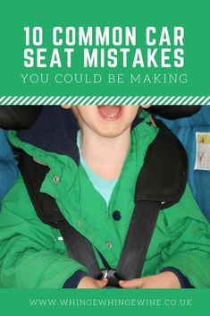 10 common car seat mistakes you could be making and how to make sure that your kids are as safe as they can be in their car seats! Kids And Parenting, Parenting Hacks, Parenting Websites, Parenting Ideas, Foster Parenting, How To Get Sleep, Pregnant Mom, Mom Advice, First Time Moms
