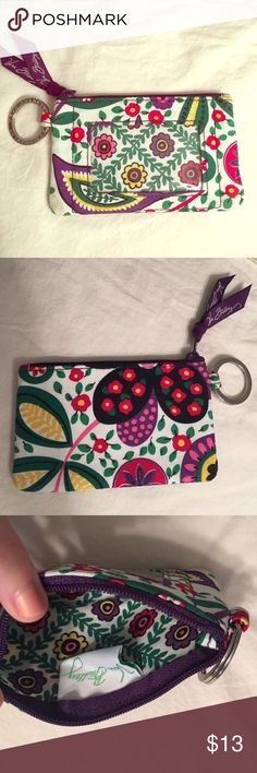 Vera Bradley change purse Used only once. In great condition, except one smudge on corner-shown in picture. Bags Wallets