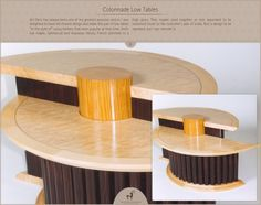 Colonnade Low Tables