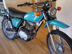 1976 - Honda XL125 Enduro