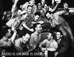 radio is on war is over