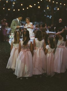 Cute flowergirl's dresses