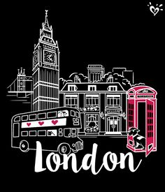 <3 London? Then you need this tee!