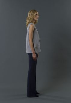 top callie pant mondrian FW 15-16 collection by QL2 www.quelle2.it #fashion, #women, #apparel