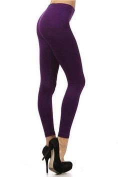 Beige Leggings, Basic Leggings, Purple Leggings, Plus Size Leggings, Cotton Leggings, Seamless Leggings, Comfortable Outfits, Simple Outfits, Workout Leggings