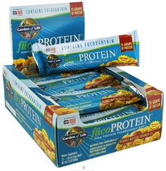 Garden Of Life fucoProtein Peanut Butter Crunch Bars- Sold Individually >>> Awesome product. Click the image : Bars Snacks Weight loss dietry
