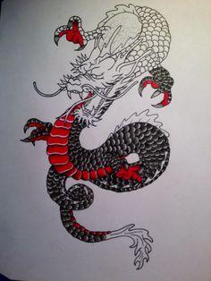 tattoos of dragons tumblr - Buscar con Google