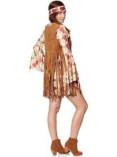 Déguisement femme - Déguisement de hippie - Kiabi