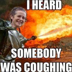 Carol heard that you were feeling sick...