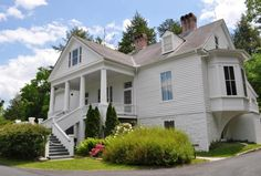 Connemara, Carl Sandburg's home, Flat Rock, NC.  Need to hike a mile up to the house.  Lovely place!