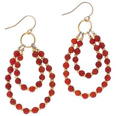 Fall Picnic Earrings | Fusion Beads Inspiration Gallery has lots of bead…