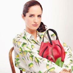 CH Carolina Herrera De Baez- Matryoshka mini bag