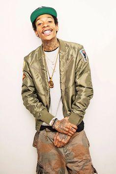 Wiz Khalifa - Rapper and songwriter born in Minot, North Dakota