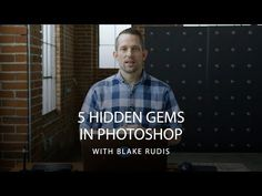 There is always something new to learn in Adobe Photoshop! Get the most out of the popular photo editing software with Blake Rudis' 5 hidden gems to speed up. Photoshop Logo, Photoshop Video, Adobe Photoshop Lightroom, Photoshop Design, Photoshop Tutorial, Photoshop Actions, Advanced Photoshop, Photoshop Elements, Photoshop For Photographers