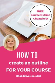 Struggling with your online course outline? Look no further. This post walks you through the steps of creating your online course outline. PLUS: Free Course Outline Cheatsheet #onlinecoursetips #onlinecourses #onlinecourseoutline