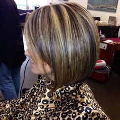 #highlights #haircut #contrast #cutandstyle #hairidea