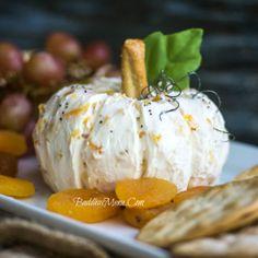 Apricot Cream Cheese Pumpkin (Use a #GF Pretzel as stem)